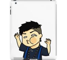 Jackson Wang Got7 funny face iPad Case/Skin