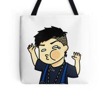 Jackson Wang Got7 funny face Tote Bag