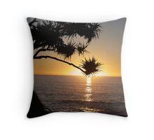 Pandanus Dawn Throw Pillow