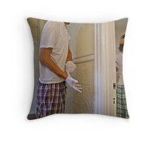 Two Degrees of Separation Throw Pillow