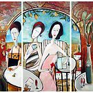The Morning Graces - Triptic by Michele Righetti