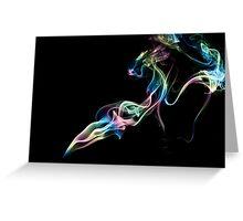 Smoke Art 16 Greeting Card