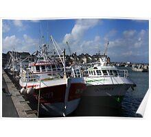 Harbour Fleet Poster