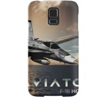 F-18 Hornet Jet Fighter Samsung Galaxy Case/Skin