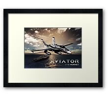 F-18 Hornet Jet Fighter Framed Print