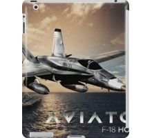 F-18 Hornet Jet Fighter iPad Case/Skin