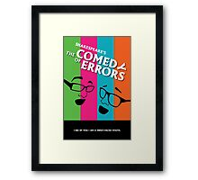 The Comedy of Errors Framed Print