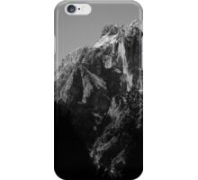 B&W Mountains iPhone Case/Skin