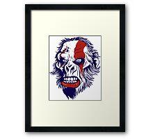 Warrior Ape Framed Print