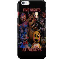 FNAF 2 animatronics iPhone Case/Skin