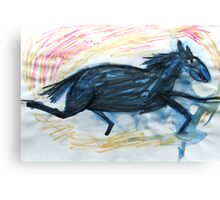 Horsey 7 Canvas Print