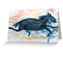 Horsey 7 Greeting Card
