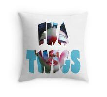 FKA Twigs LP1 Throw Pillow