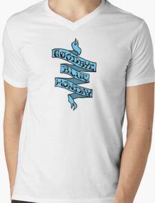 Goodbye Blue Monday Mens V-Neck T-Shirt