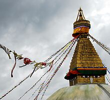 Boudhanath Temple by sdarnley
