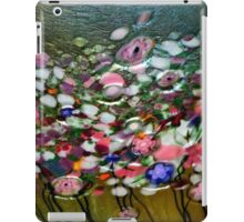 *Glass Waterlillies Abstract* iPad Case/Skin