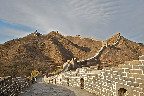 Great Wall of China by yewenyi