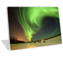 Alaska at night Laptop Skin