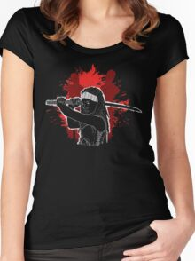 The samurai Women's Fitted Scoop T-Shirt