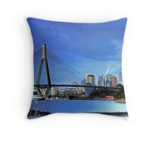 ANZAC Bridge Throw Pillow