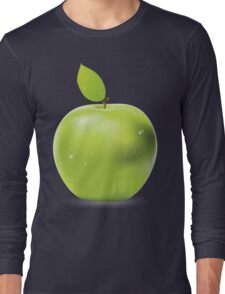 Fresh green apple Long Sleeve T-Shirt