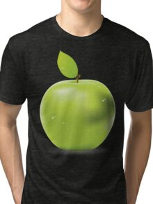 Fresh green apple Tri-blend T-Shirt