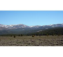 Sierra Mountains, Nevada VI Photographic Print