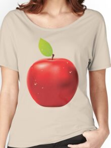 Fresh red apple Women's Relaxed Fit T-Shirt