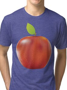 Fresh red apple 2 Tri-blend T-Shirt