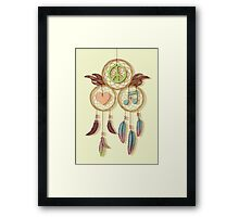 Peace, Love and Music Framed Print