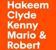Hakeem Clyde Kenny Mario & Robert T-Shirt