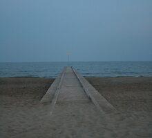 Beach Lido De Jesolo, Italy by godfather76