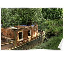 Rusty Boat Poster