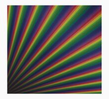 Perspective rainbow planks Kids Clothes