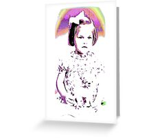 Lost innocence Greeting Card
