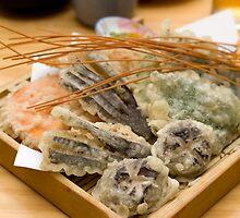 Vegetable tempura by Tim Johnson