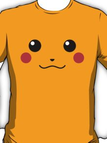 Pikachu Face T-Shirt