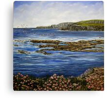"""Kilkee Cliffs - County Clare"" Canvas Print"