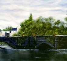"""Kilrush Bridge, County Clare, Ireland"" by Avril Brand"
