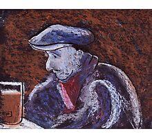 Man at the bar Photographic Print