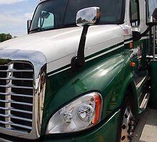 """Freightliner """"Cascadia"""" by John Schneider"""