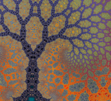 Inner Life of a Tree Sticker