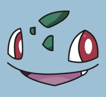 Bulbasaur Face Kids Clothes
