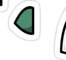 Bulbasaur Face Sticker