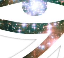 Kid Cudi Galaxy [Red] | Eye of Ra [Eye of Horus] Sticker