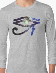 Kid Cudi Galaxy [Blue] | Eye of Ra [Eye of Horus] Long Sleeve T-Shirt