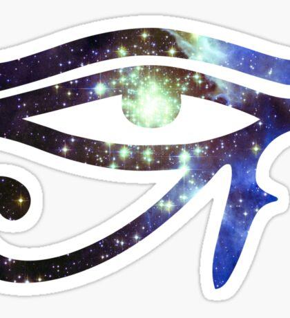 Kid Cudi Galaxy [Blue]   Eye of Ra [Eye of Horus] Sticker
