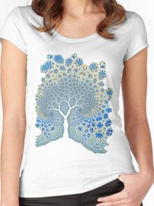 Fractured Tree 2 Women's Fitted Scoop T-Shirt