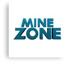 Mine Zone Canvas Print