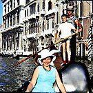 Promenade en gondole - Venise by Gilberte